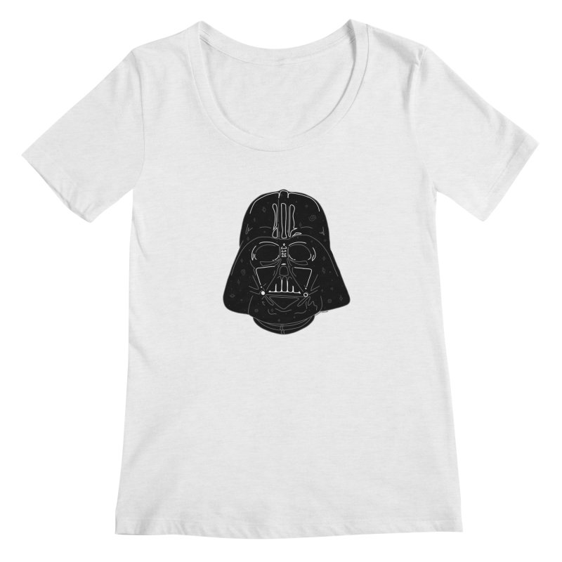 Cosmic Vader Women's Regular Scoop Neck by Juleah Kaliski Designs