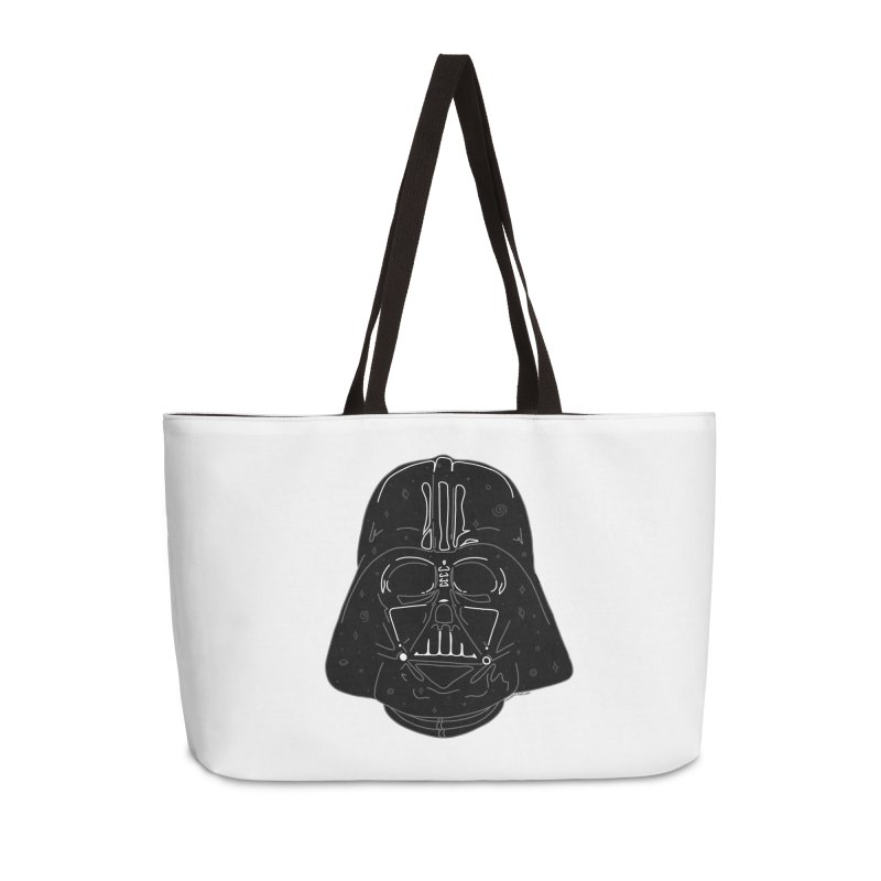 Cosmic Vader Accessories Weekender Bag Bag by Juleah Kaliski Designs