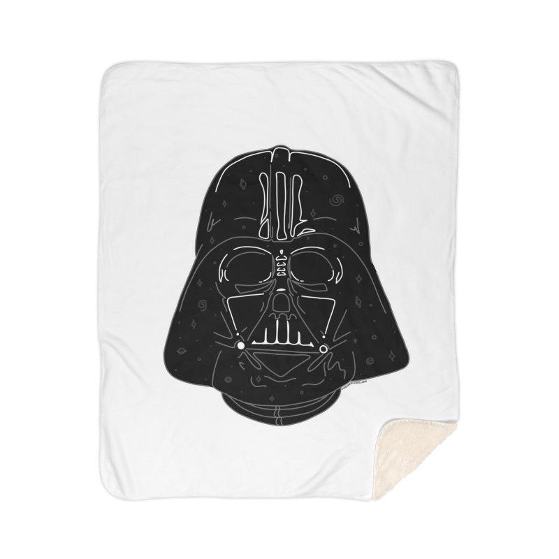 Cosmic Vader Home Sherpa Blanket Blanket by Juleah Kaliski Designs