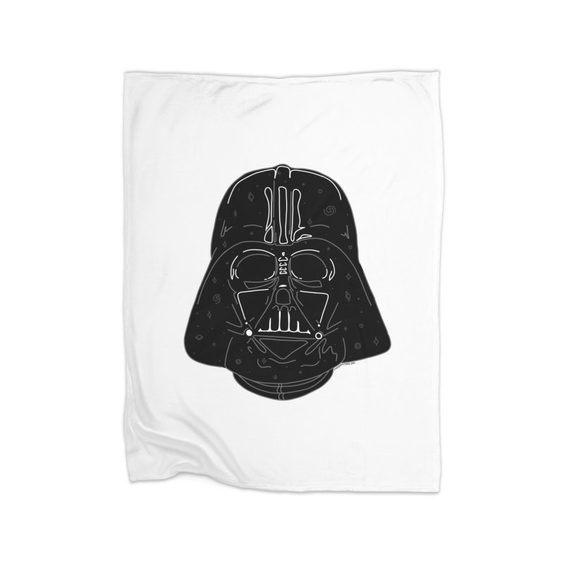 Cosmic Vader Home Fleece Blanket Blanket by Juleah Kaliski Designs