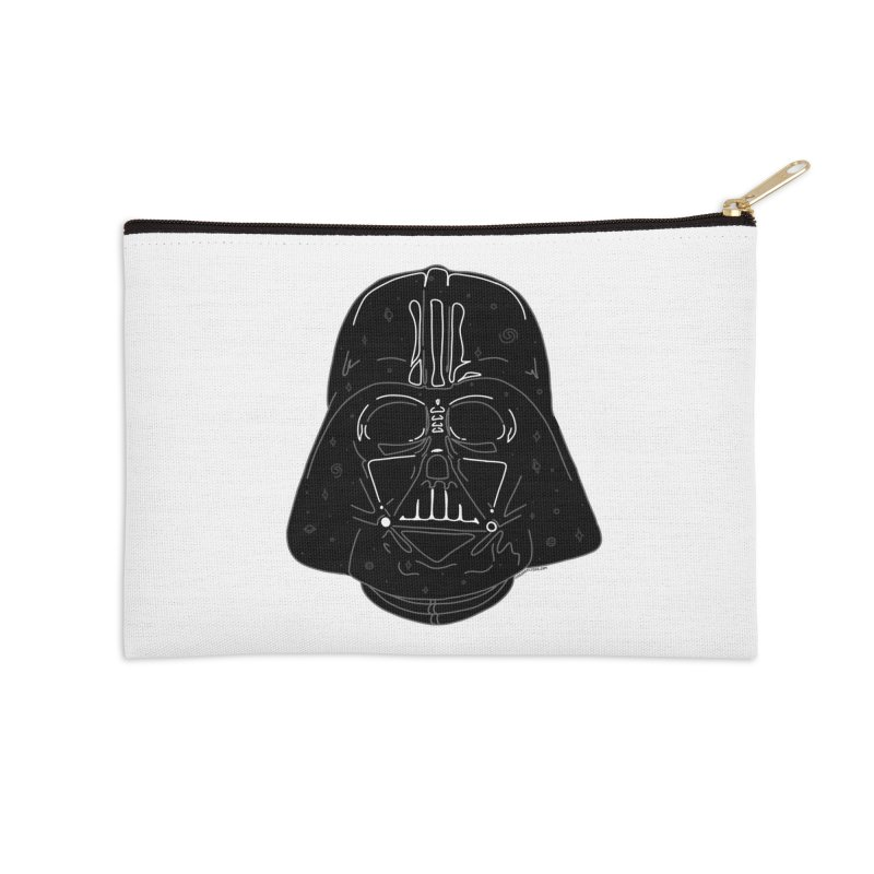 Cosmic Vader Accessories Zip Pouch by Juleah Kaliski Designs