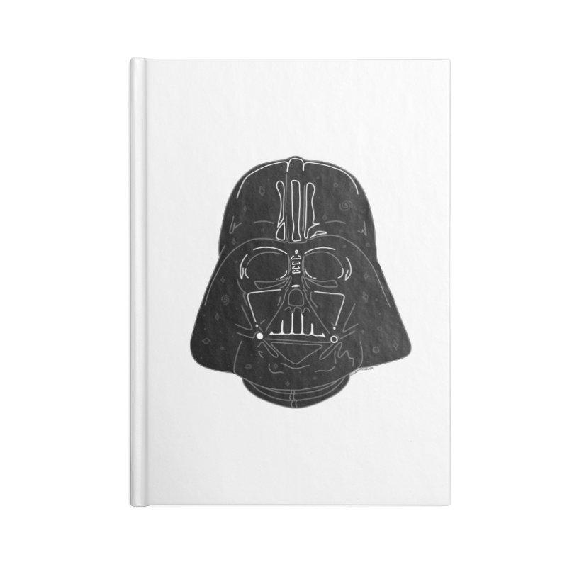 Cosmic Vader Accessories Notebook by Juleah Kaliski Designs