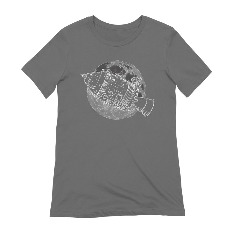 Command and Service Module Women's Extra Soft T-Shirt by Juleah Kaliski Designs