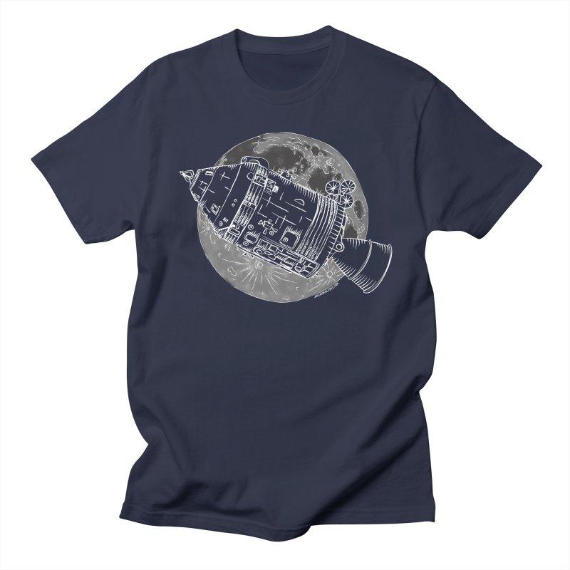 Command and Service Module Men's T-Shirt by Juleah Kaliski Designs
