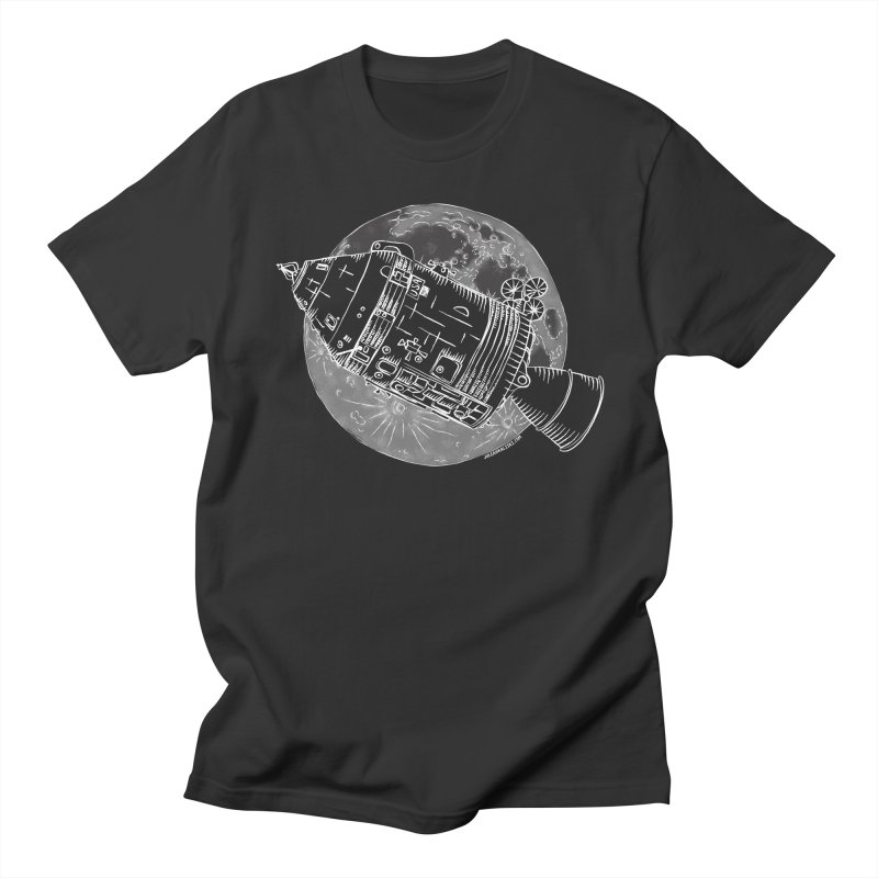 Command and Service Module Men's T-Shirt by Juleah Kaliski Designs
