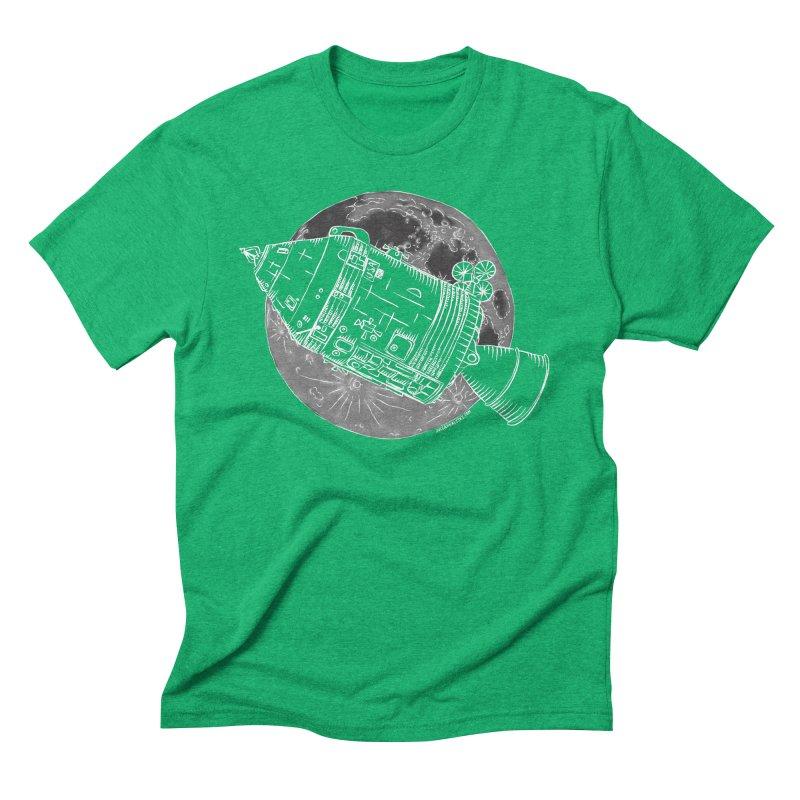 Command and Service Module Men's Triblend T-Shirt by Juleah Kaliski Designs