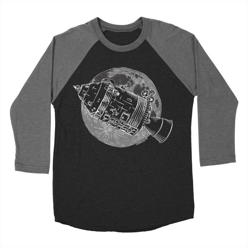 Command and Service Module Women's Baseball Triblend T-Shirt by Juleah Kaliski Designs