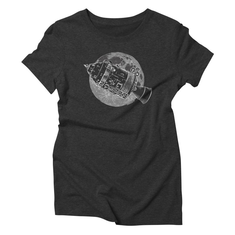Command and Service Module Women's Triblend T-Shirt by Juleah Kaliski Designs