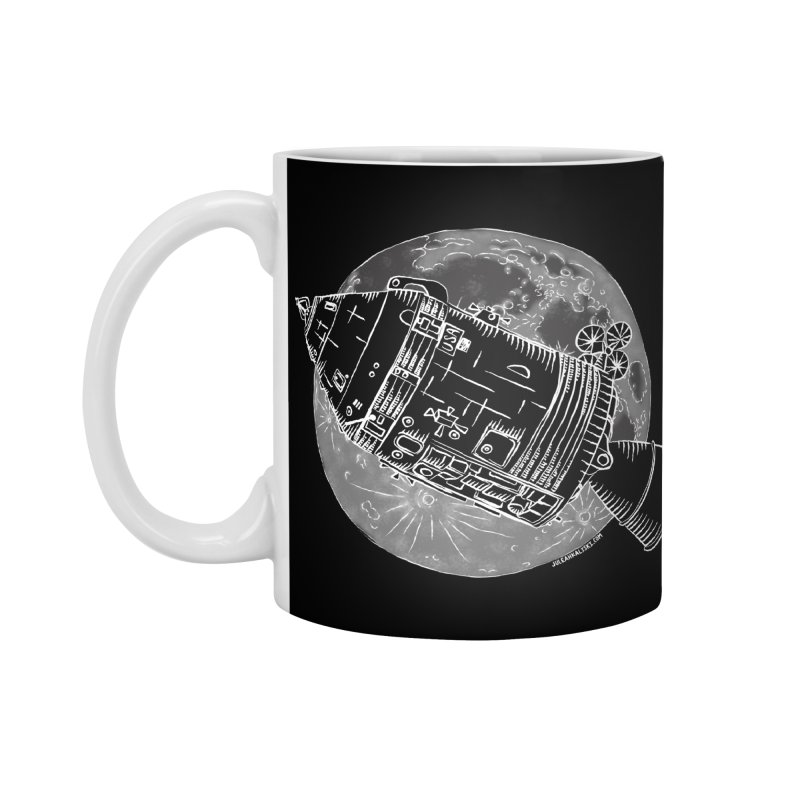 Command and Service Module Accessories Mug by Juleah Kaliski Designs