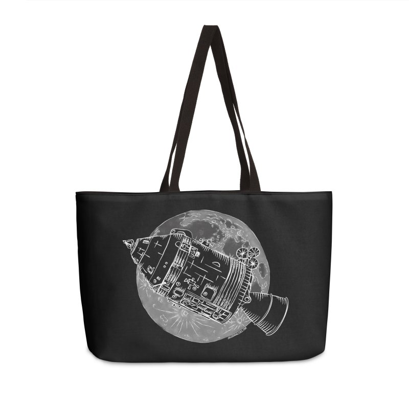 Command and Service Module Accessories Weekender Bag Bag by Juleah Kaliski Designs