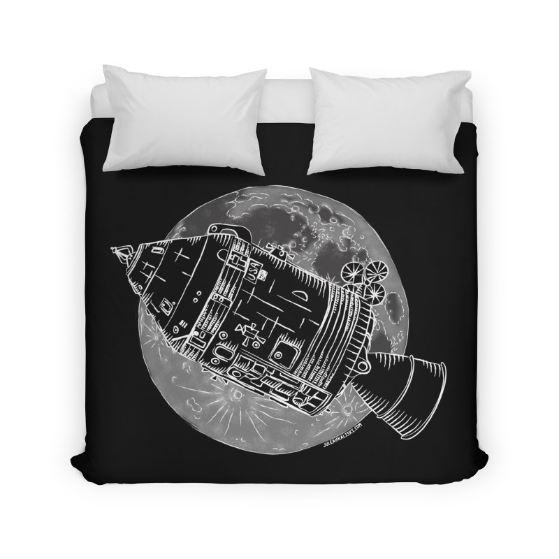 Command and Service Module Home Duvet by Juleah Kaliski Designs