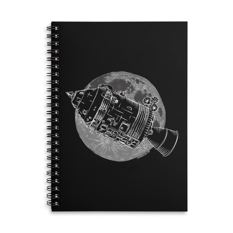 Command and Service Module Accessories Notebook by Juleah Kaliski Designs