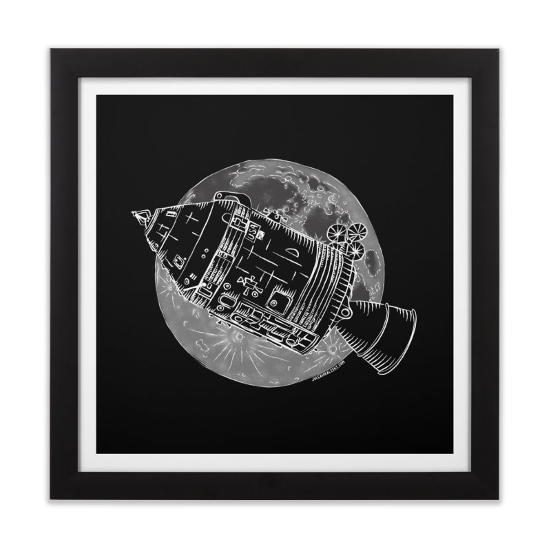Command and Service Module Home Framed Fine Art Print by Juleah Kaliski Designs