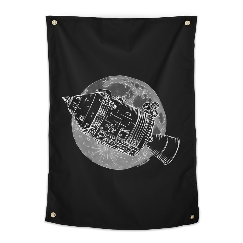 Command and Service Module Home Tapestry by Juleah Kaliski Designs