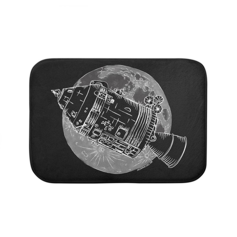 Command and Service Module Home Bath Mat by Juleah Kaliski Designs