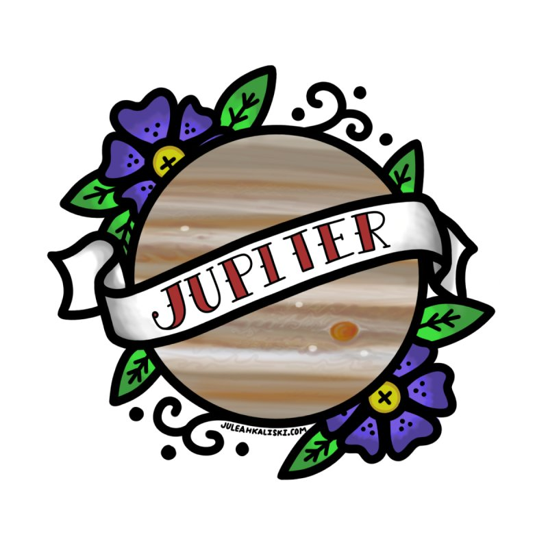 Jupiter, I shall always love you Men's T-Shirt by Juleah Kaliski Designs