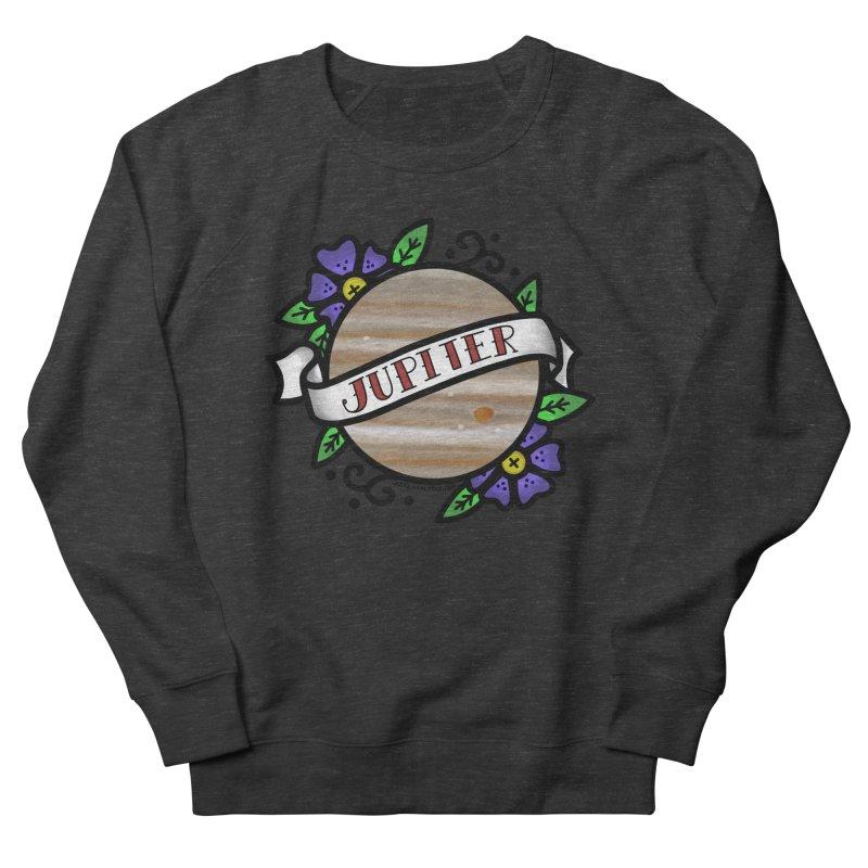 Jupiter, I shall always love you Women's French Terry Sweatshirt by Juleah Kaliski Designs