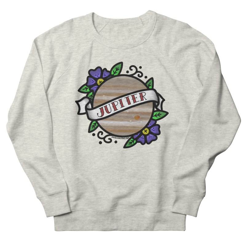 Jupiter, I shall always love you Men's French Terry Sweatshirt by Juleah Kaliski Designs