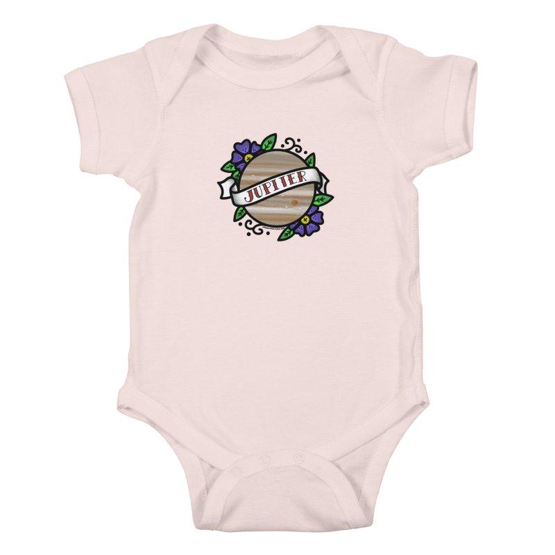 Jupiter, I shall always love you Kids Baby Bodysuit by Juleah Kaliski Designs