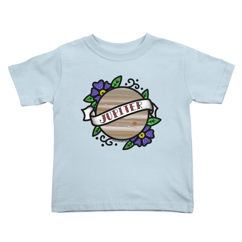 Jupiter, I shall always love you Kids Toddler T-Shirt by Juleah Kaliski Designs