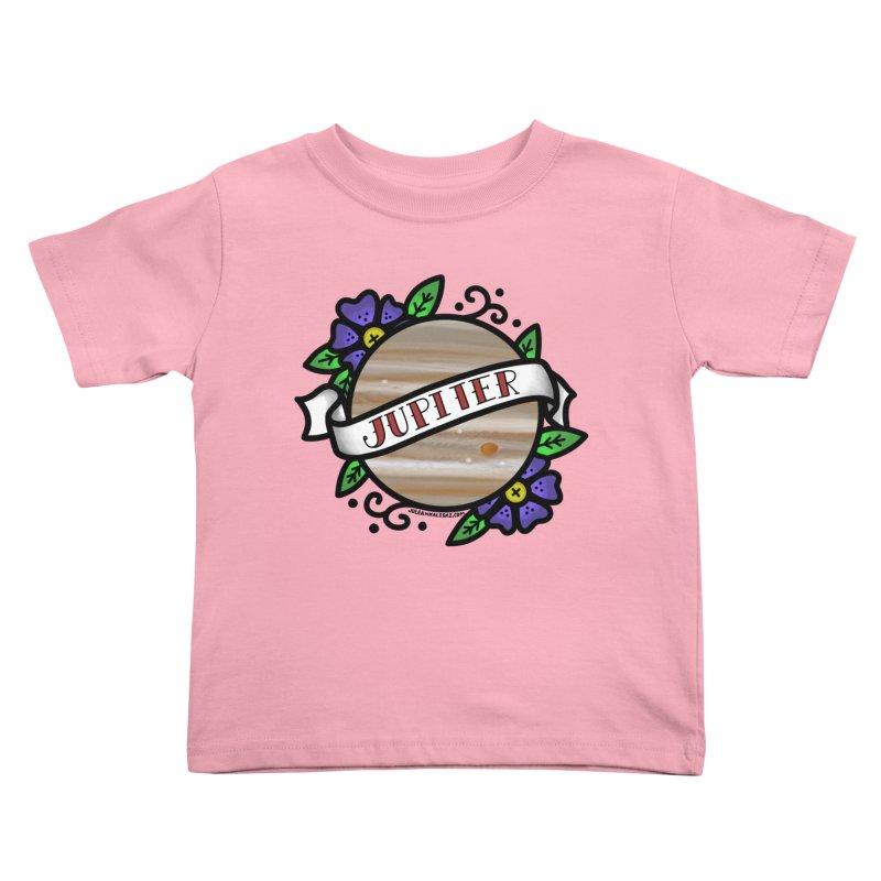Jupiter, I shall always love you Kids Toddler T-Shirt by Juleah Kaliski Designs