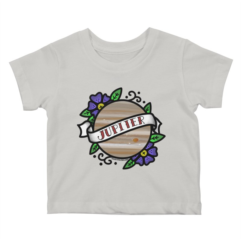 Jupiter, I shall always love you Kids Baby T-Shirt by Juleah Kaliski Designs