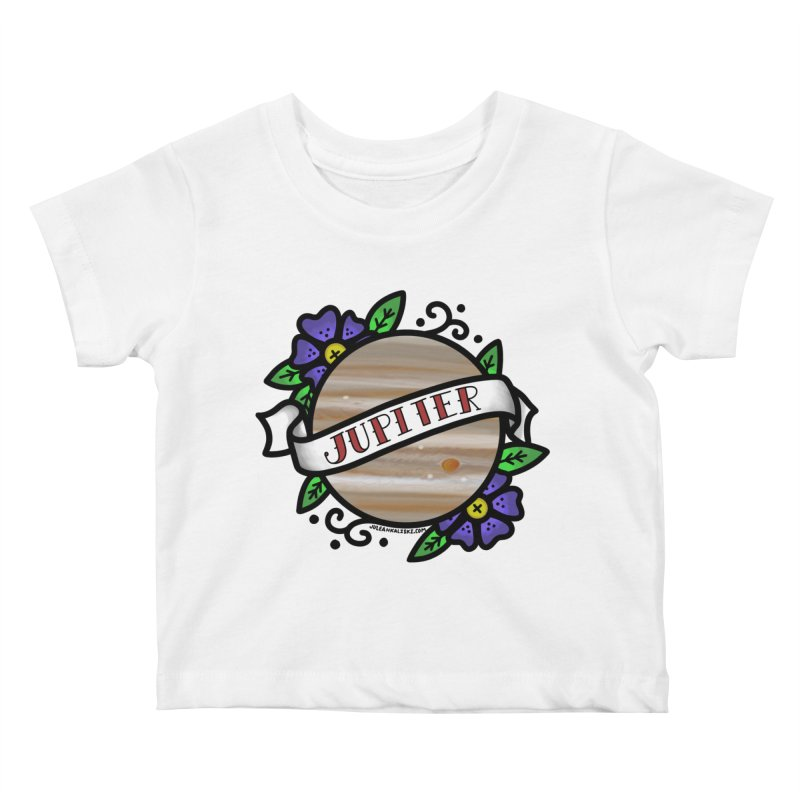 Jupiter, I shall always love you Kids Baby T-Shirt by Juleah Kaliski Designs