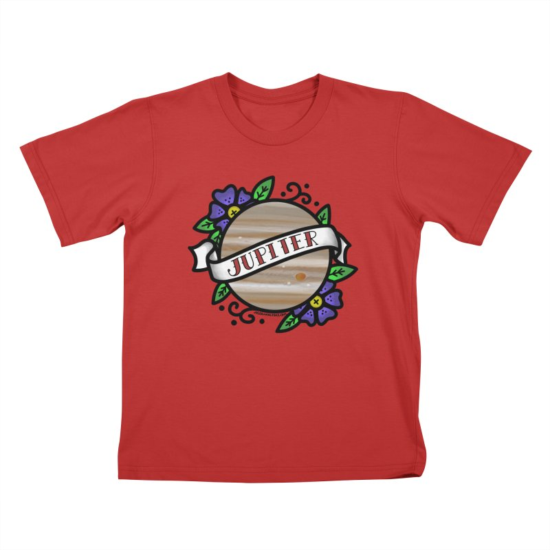 Jupiter, I shall always love you Kids T-Shirt by Juleah Kaliski Designs