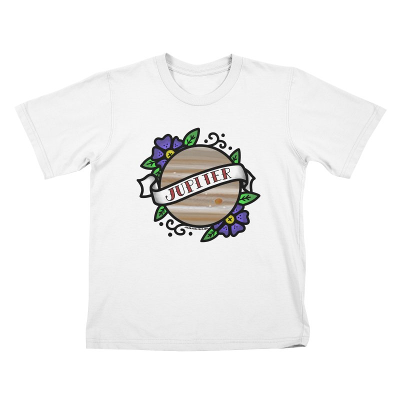 Jupiter, I shall always love you Kids T-Shirt by Juleah Kaliski Designs
