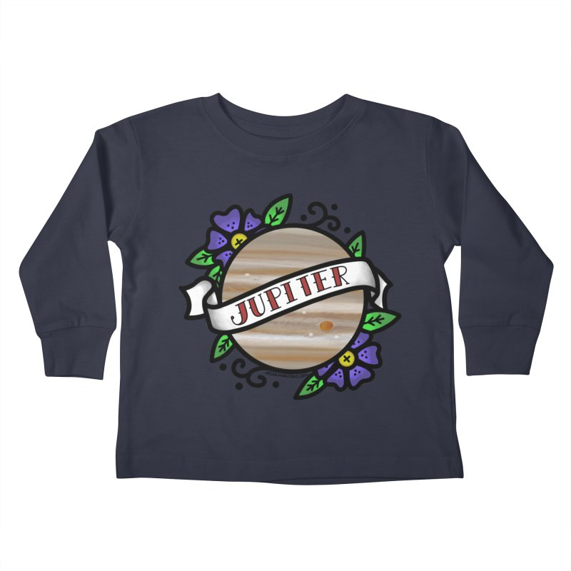 Jupiter, I shall always love you Kids Toddler Longsleeve T-Shirt by Juleah Kaliski Designs