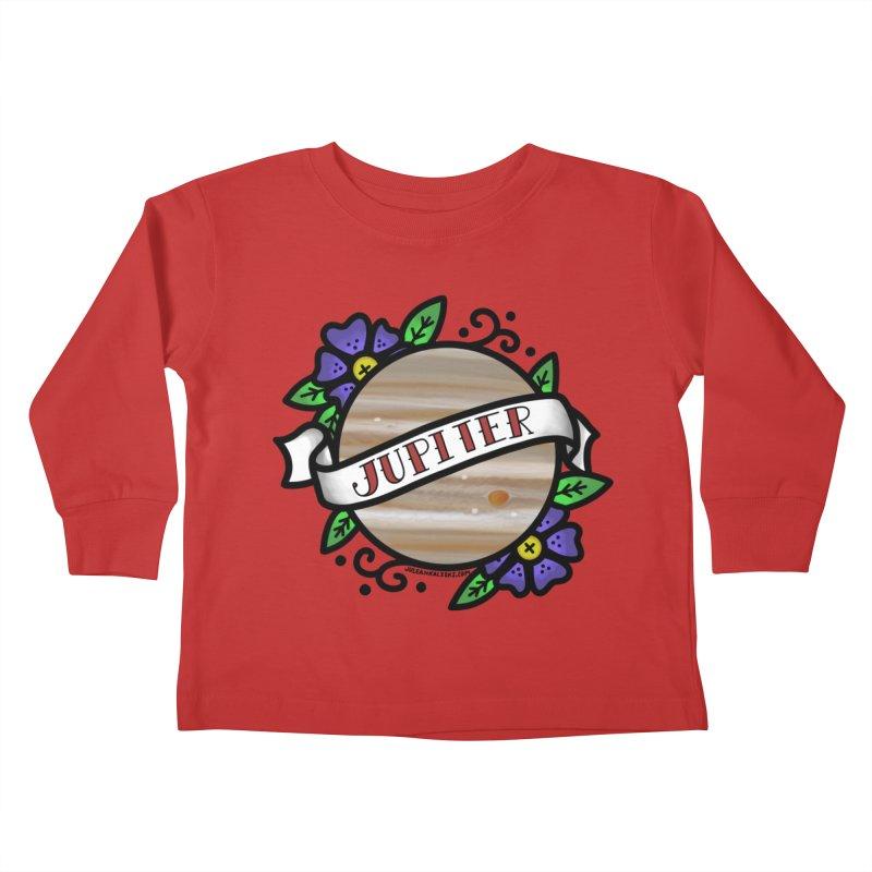 Jupiter, I shall always love you Kids Toddler Longsleeve T-Shirt by Juleah Kaliski Designs