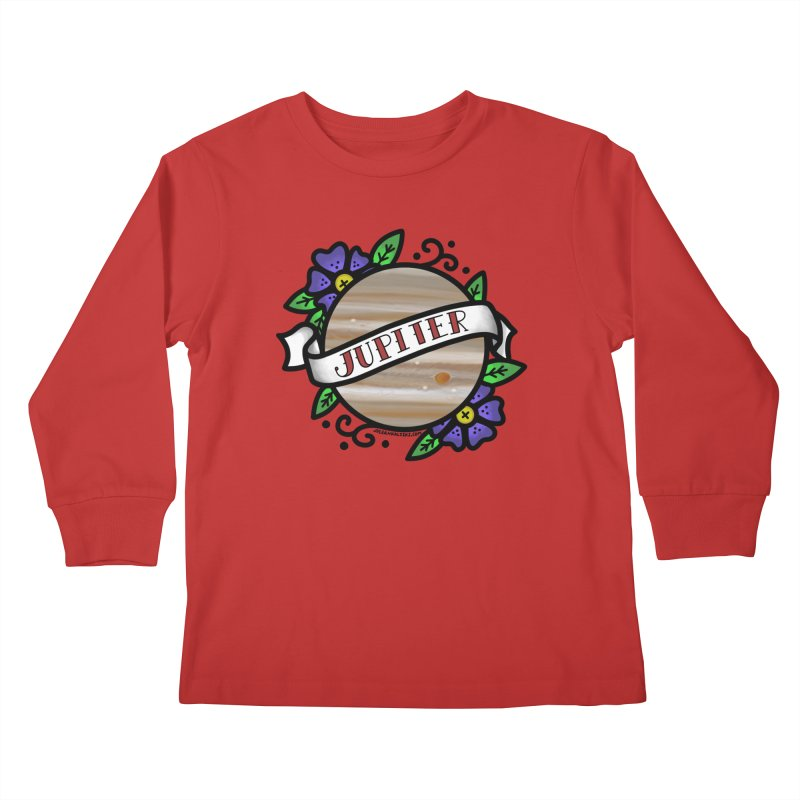 Jupiter, I shall always love you Kids Longsleeve T-Shirt by Juleah Kaliski Designs