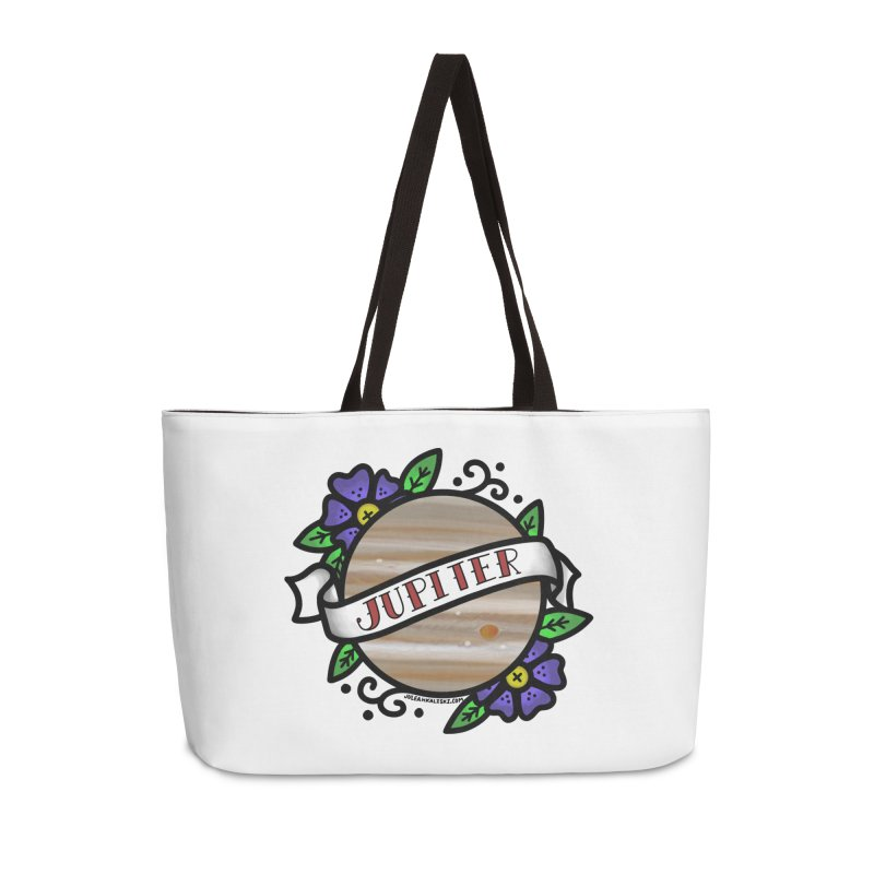 Jupiter, I shall always love you Accessories Weekender Bag Bag by Juleah Kaliski Designs