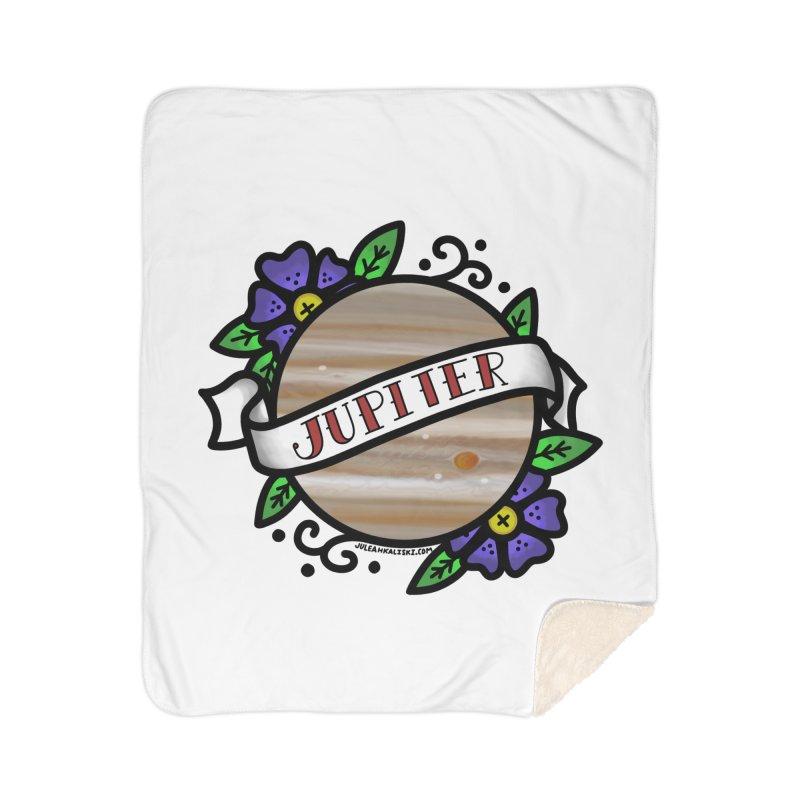 Jupiter, I shall always love you Home Sherpa Blanket Blanket by Juleah Kaliski Designs