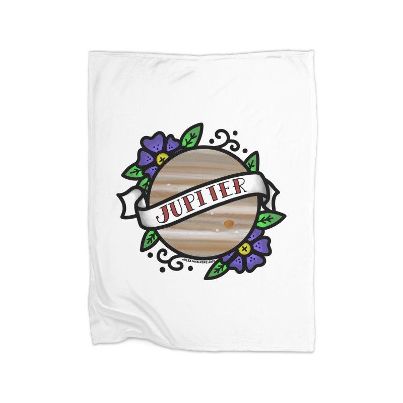 Jupiter, I shall always love you Home Blanket by Juleah Kaliski Designs