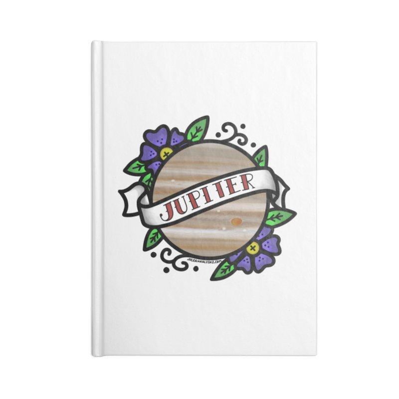 Jupiter, I shall always love you Accessories Notebook by Juleah Kaliski Designs