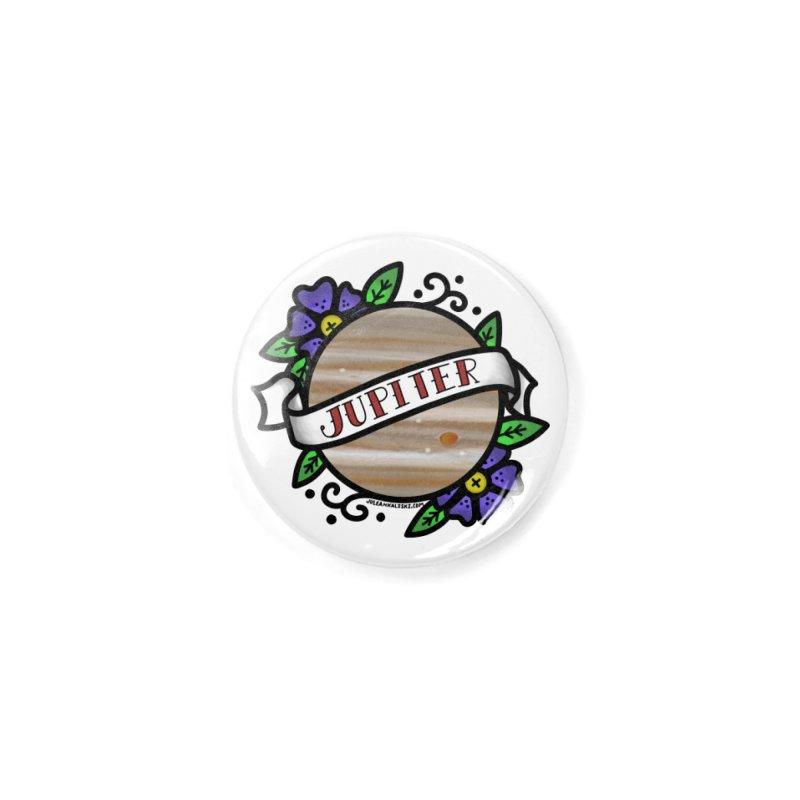 Jupiter, I shall always love you Accessories Button by Juleah Kaliski Designs