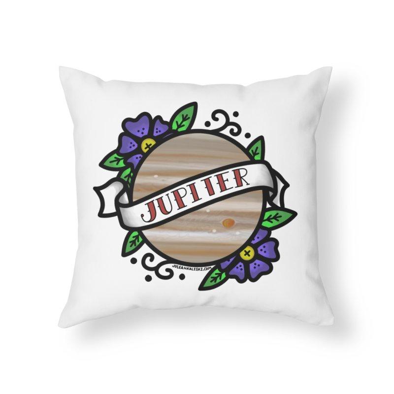 Jupiter, I shall always love you Home Throw Pillow by Juleah Kaliski Designs
