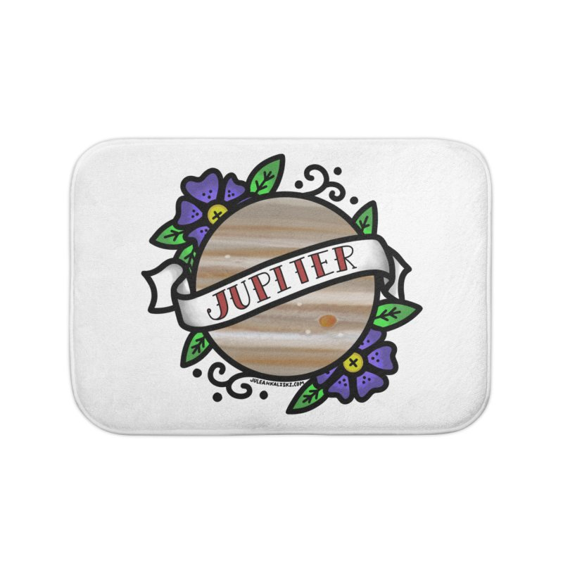 Jupiter, I shall always love you Home Bath Mat by Juleah Kaliski Designs