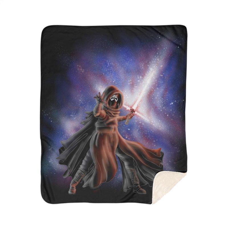 Galactic Lightsaber Home Blanket by Juleah Kaliski Designs