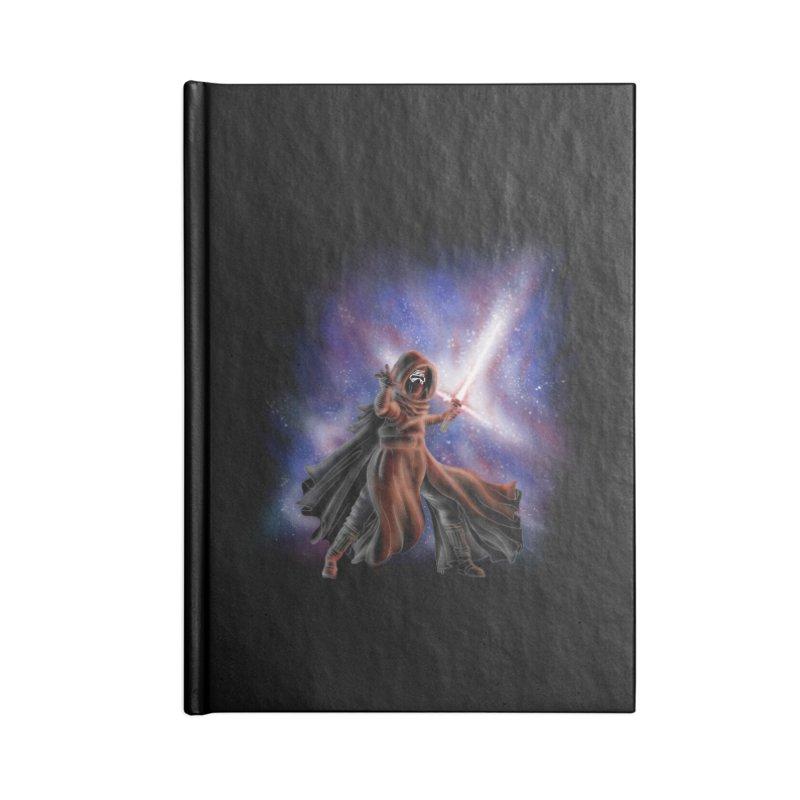 Galactic Lightsaber Accessories Notebook by Juleah Kaliski Designs