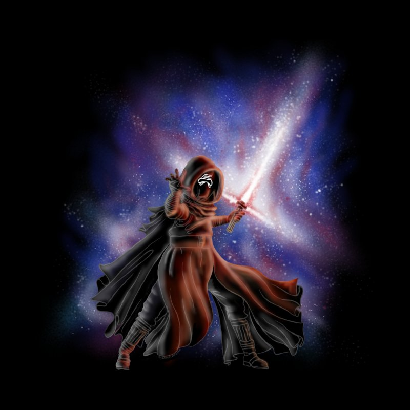 Galactic Lightsaber Men's T-Shirt by Juleah Kaliski Designs