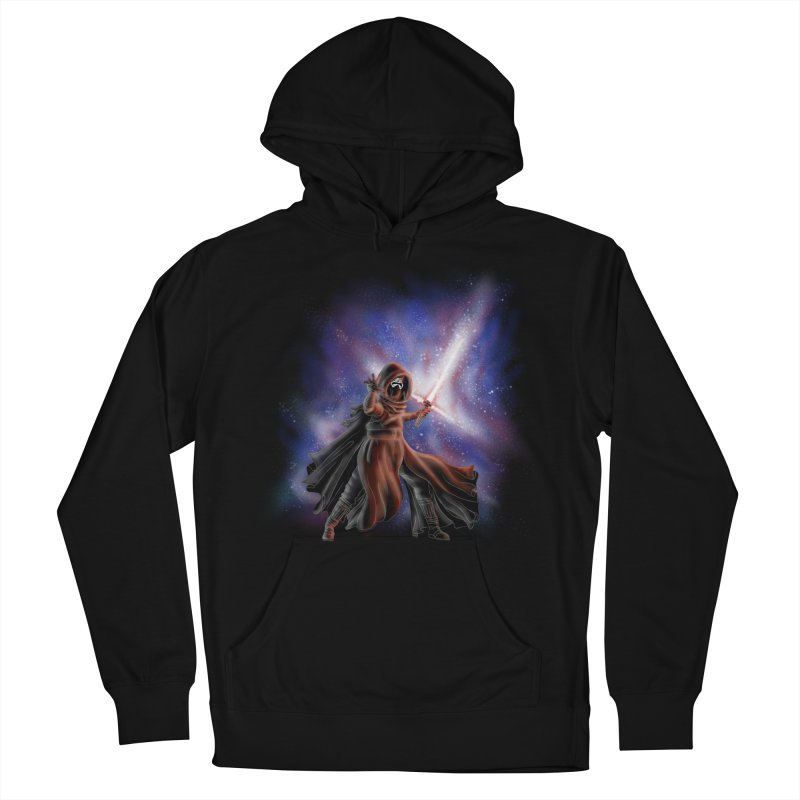Galactic Lightsaber Men's French Terry Pullover Hoody by Juleah Kaliski Designs