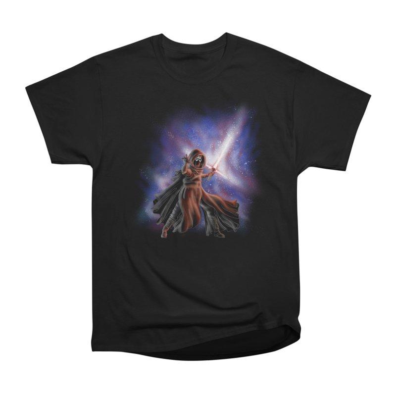 Galactic Lightsaber Men's Classic T-Shirt by Juleah Kaliski Designs