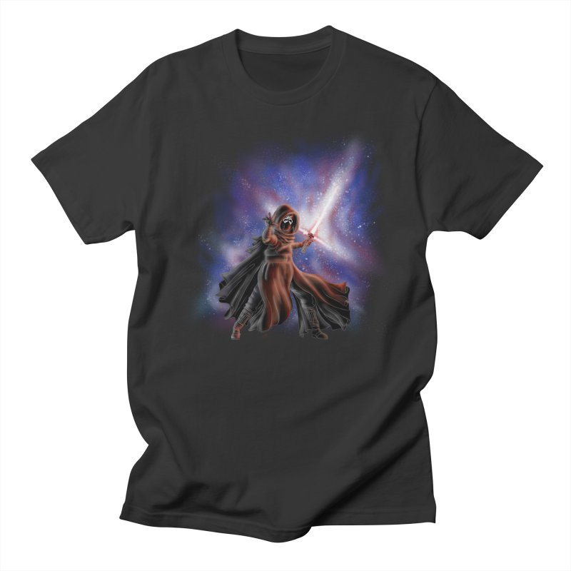 Galactic Lightsaber Women's Regular Unisex T-Shirt by Juleah Kaliski Designs