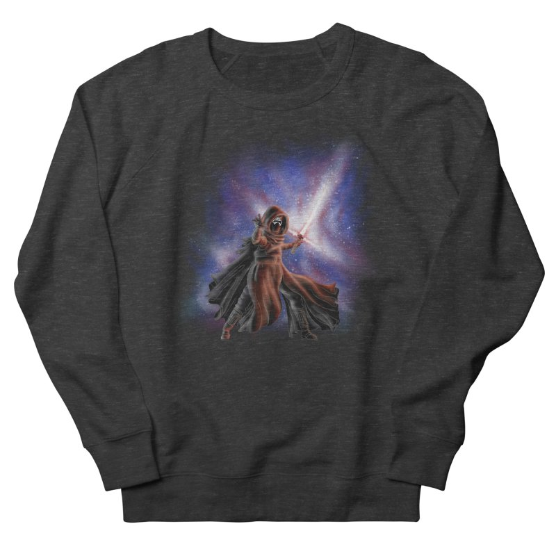 Galactic Lightsaber Women's French Terry Sweatshirt by Juleah Kaliski Designs