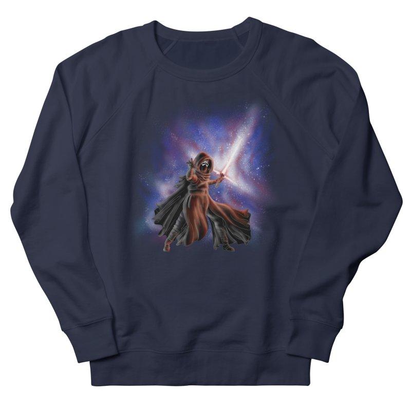 Galactic Lightsaber Men's Sweatshirt by Juleah Kaliski Designs