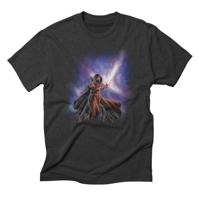 Galactic Lightsaber Men's T-Shirt by Juleah Kaliski Designs