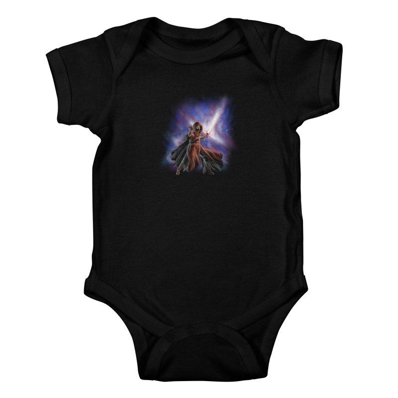 Galactic Lightsaber Kids Baby Bodysuit by Juleah Kaliski Designs