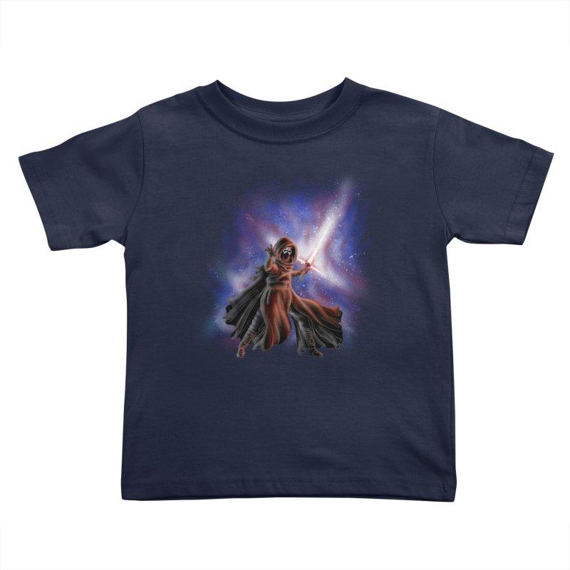 Galactic Lightsaber Kids Toddler T-Shirt by Juleah Kaliski Designs